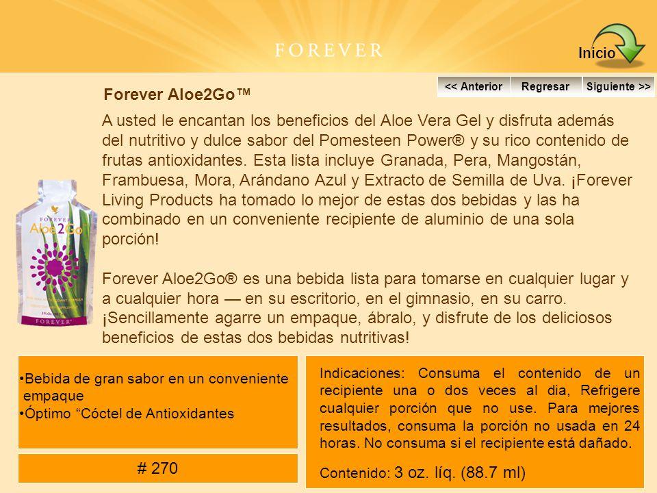 Inicio Forever Aloe2Go™