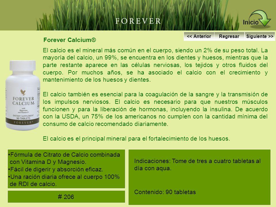 Inicio # 206 Forever Calcium®