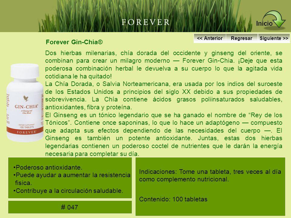 Inicio # 047 Forever Gin-Chia®