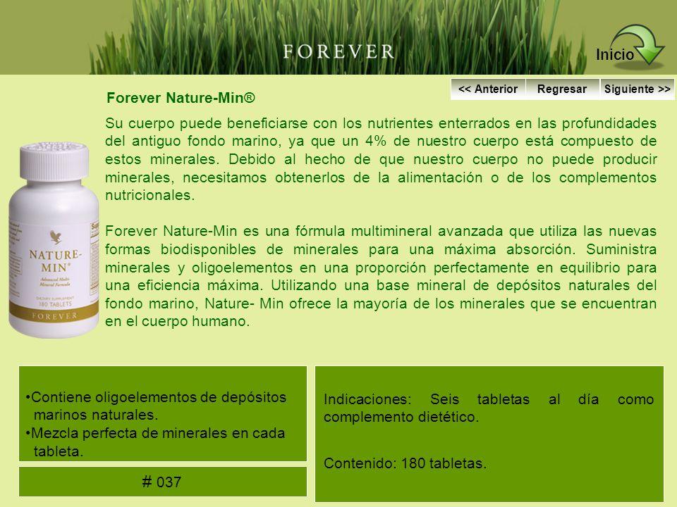 Inicio # 037 Forever Nature-Min®