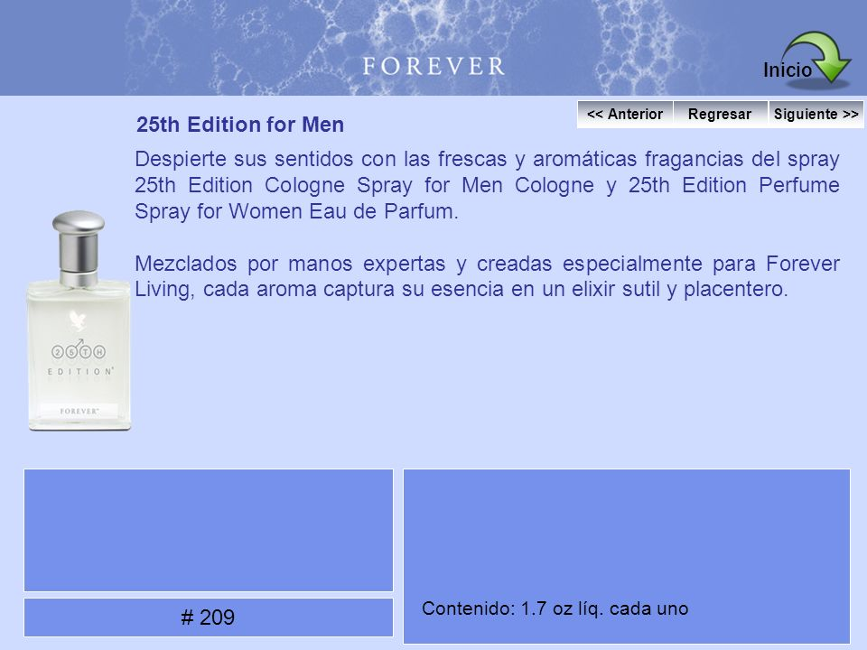 Inicio 25th Edition for Men