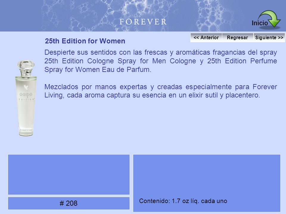 Inicio 25th Edition for Women
