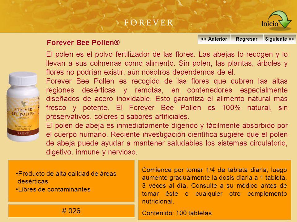Inicio Forever Bee Pollen®
