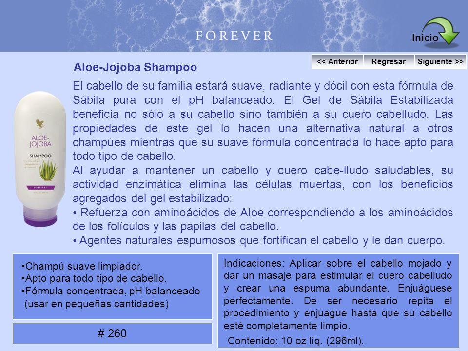 Inicio Aloe-Jojoba Shampoo