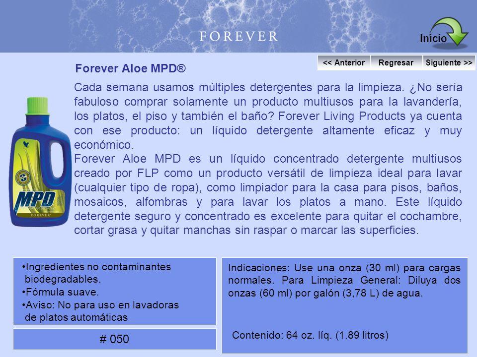 Inicio Forever Aloe MPD®