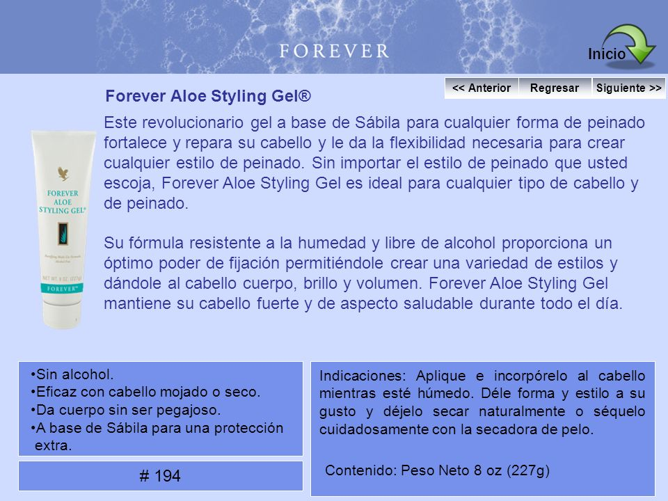 Forever Aloe Styling Gel®