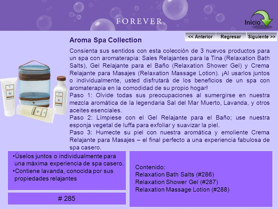 Inicio Aroma Spa Collection # 285