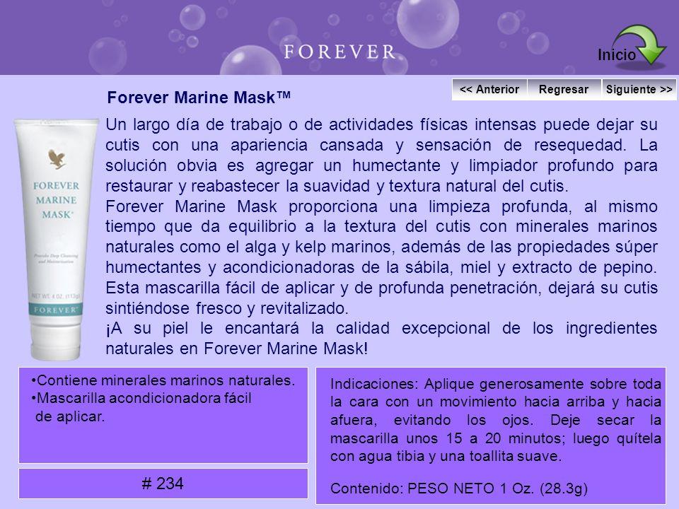 Inicio Forever Marine Mask™