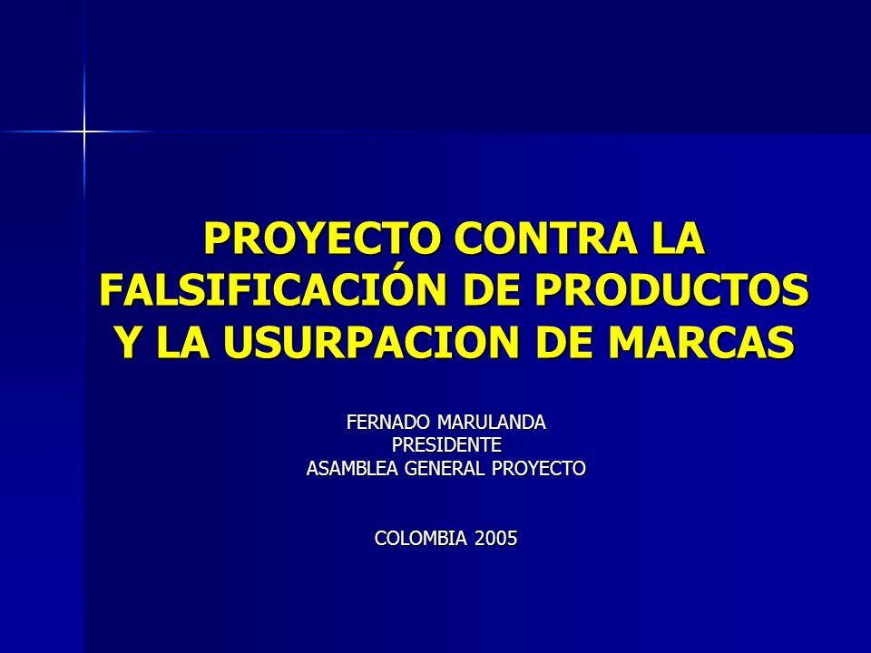 FERNADO MARULANDA PRESIDENTE ASAMBLEA GENERAL PROYECTO COLOMBIA 2005