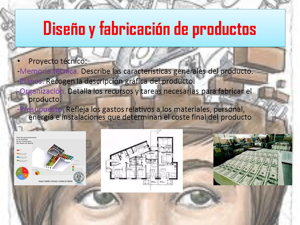 Diseño y fabricación de productos
