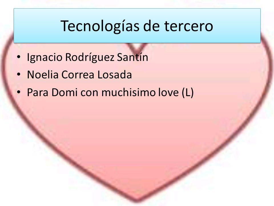 Tecnologías de tercero