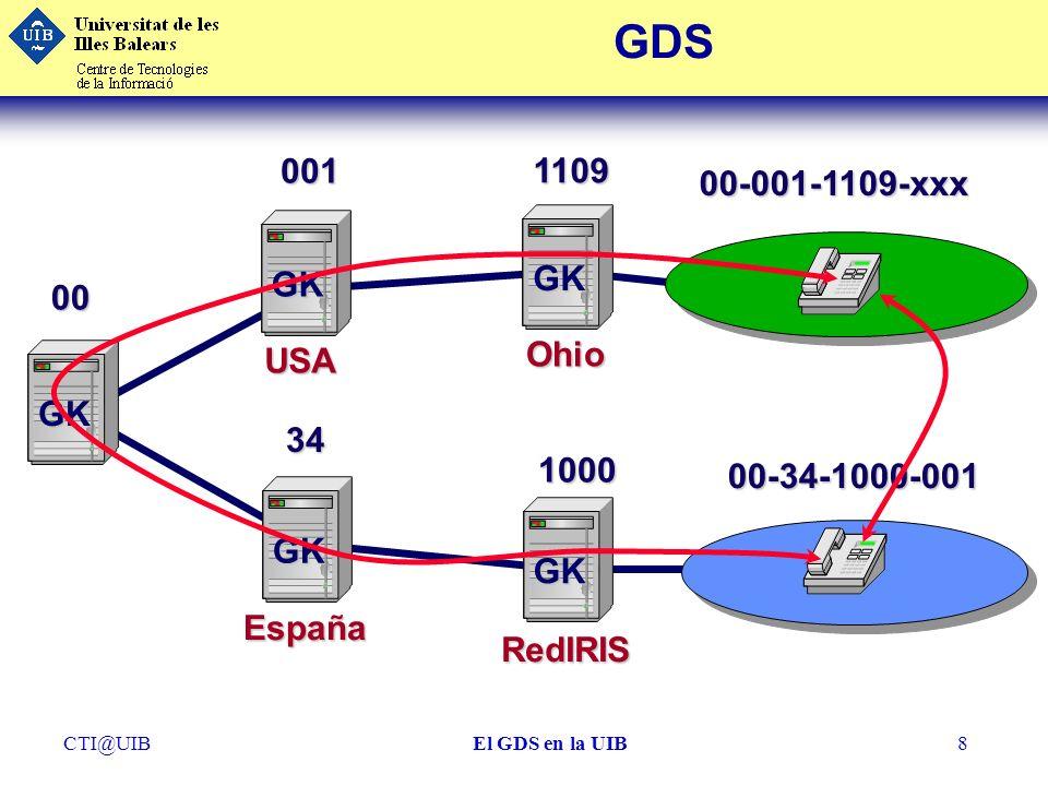 GDS 001 1109 00-001-1109-xxx GK GK 00 Ohio USA GK 34 1000