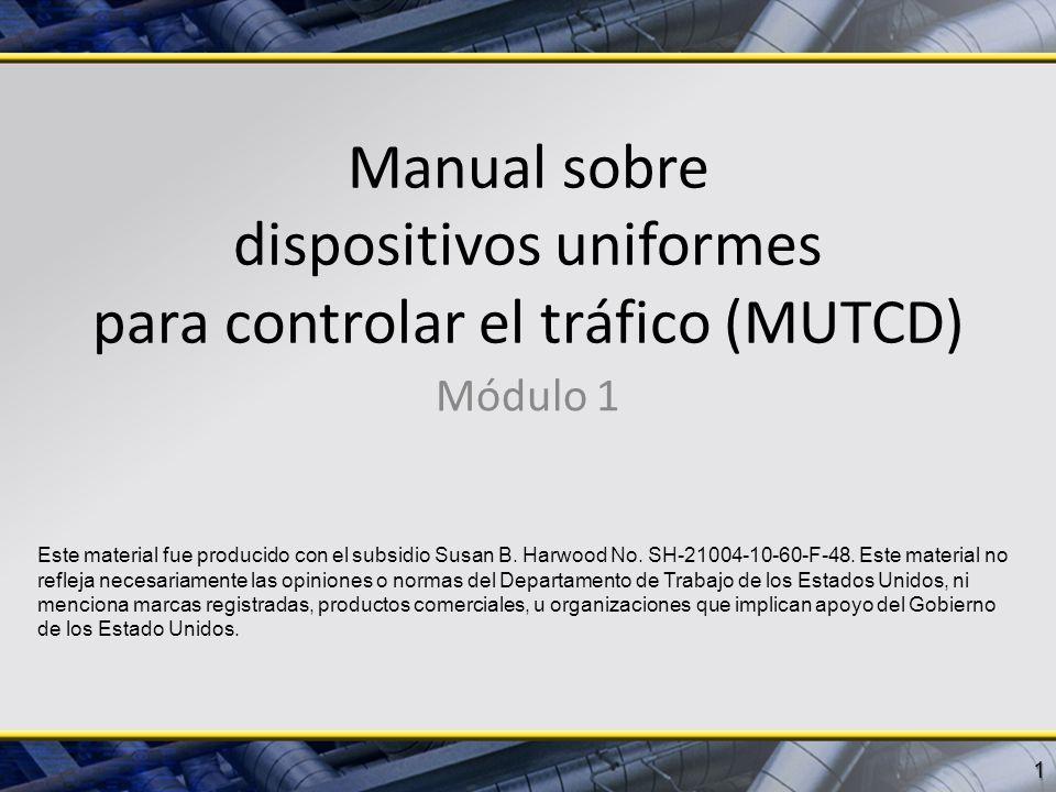Manual sobre dispositivos uniformes para controlar el tráfico (MUTCD)