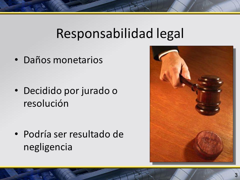 Responsabilidad legal
