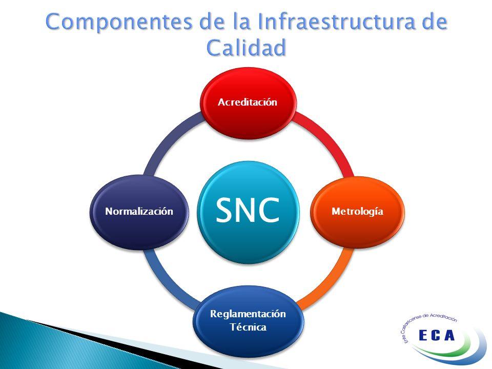 Componentes de la Infraestructura de Calidad