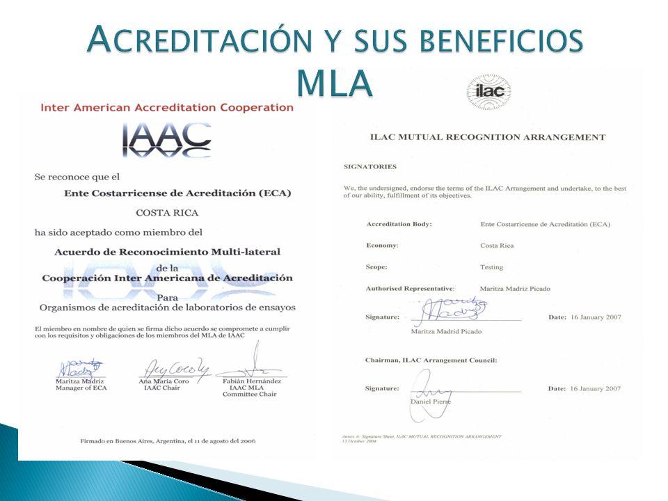 Acreditación y sus beneficios MLA