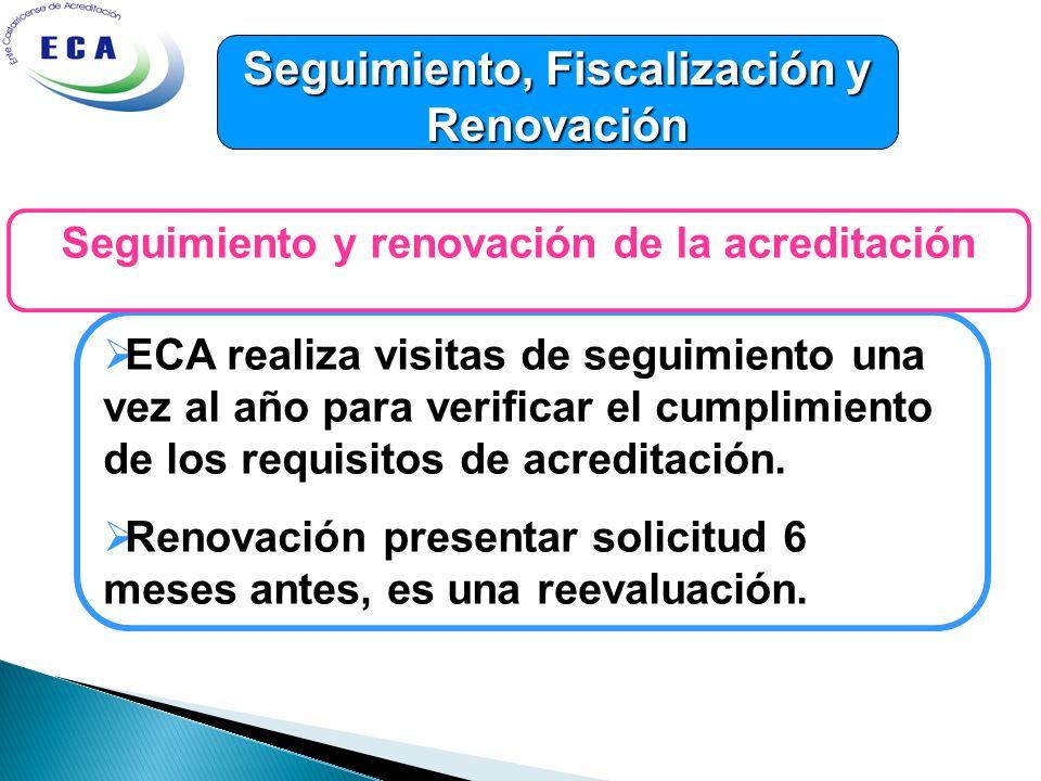 Seguimiento, Fiscalización y Renovación