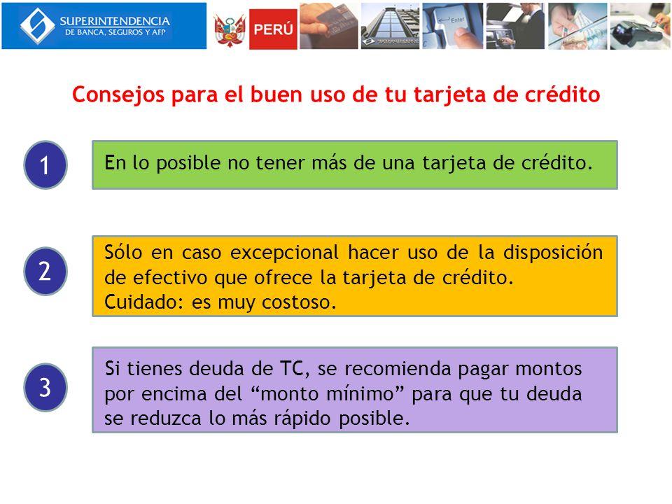 Consejos para el buen uso de tu tarjeta de crédito
