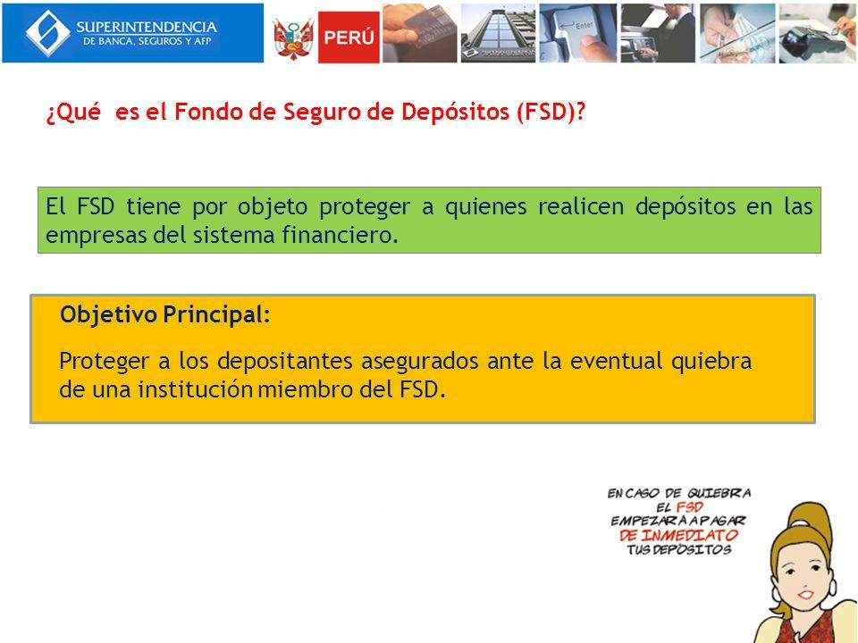¿Qué es el Fondo de Seguro de Depósitos (FSD)