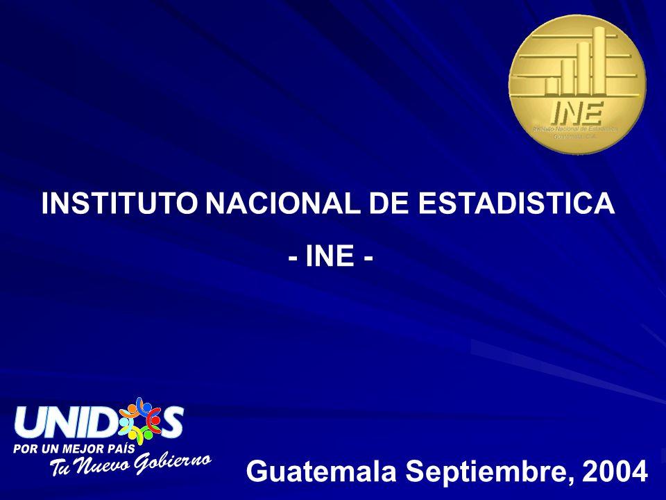 INSTITUTO NACIONAL DE ESTADISTICA