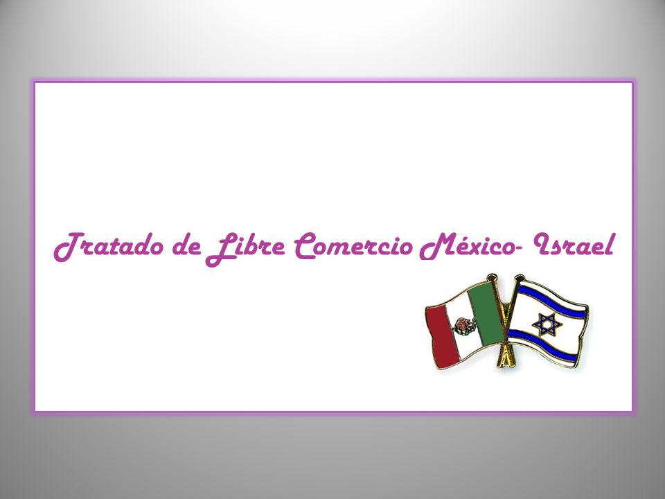 Tratado de Libre Comercio México- Israel