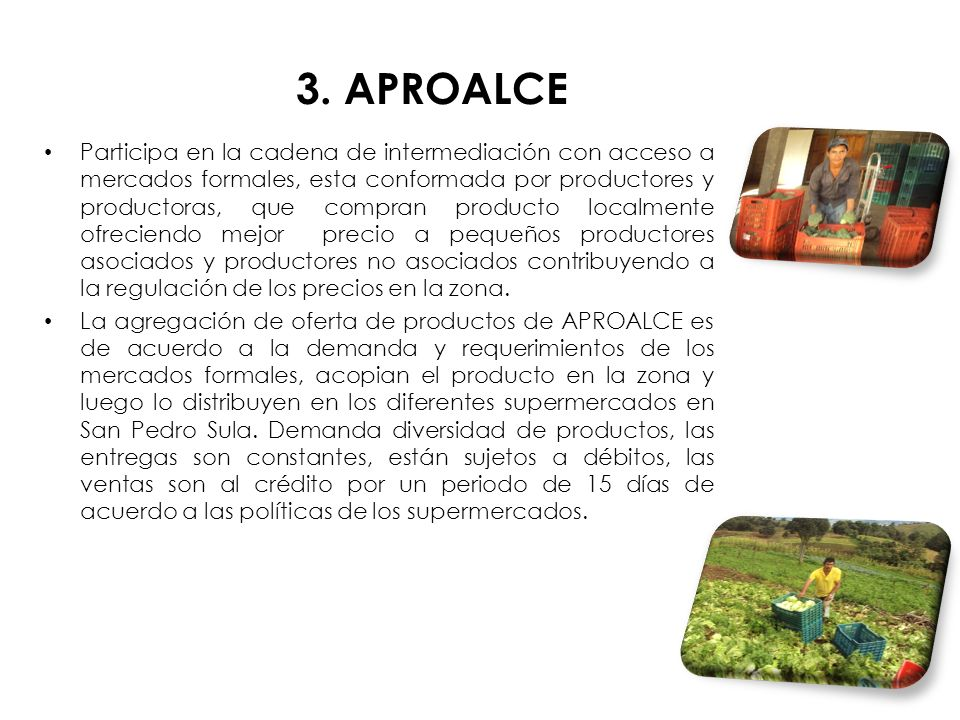 3. APROALCE