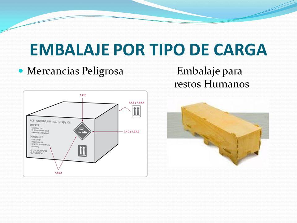 EMBALAJE POR TIPO DE CARGA