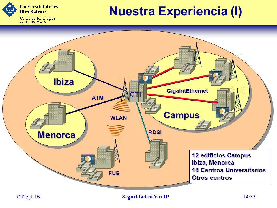 Nuestra Experiencia (I)