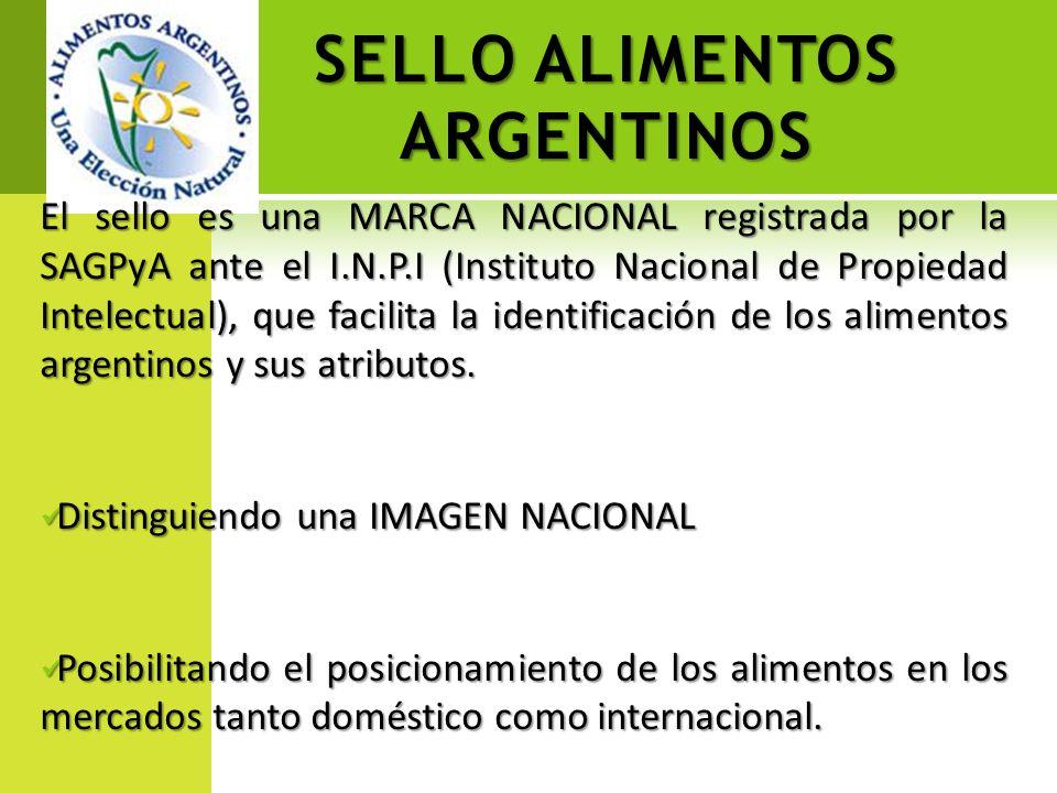 SELLO ALIMENTOS ARGENTINOS