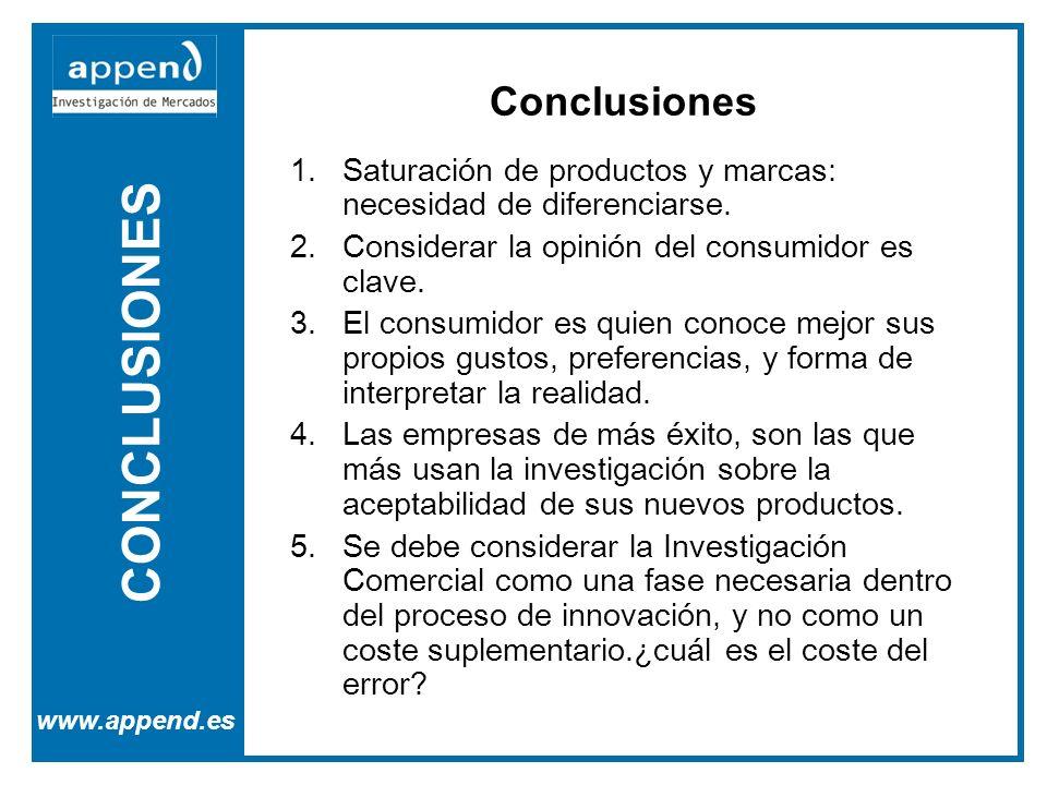 CONCLUSIONES Conclusiones