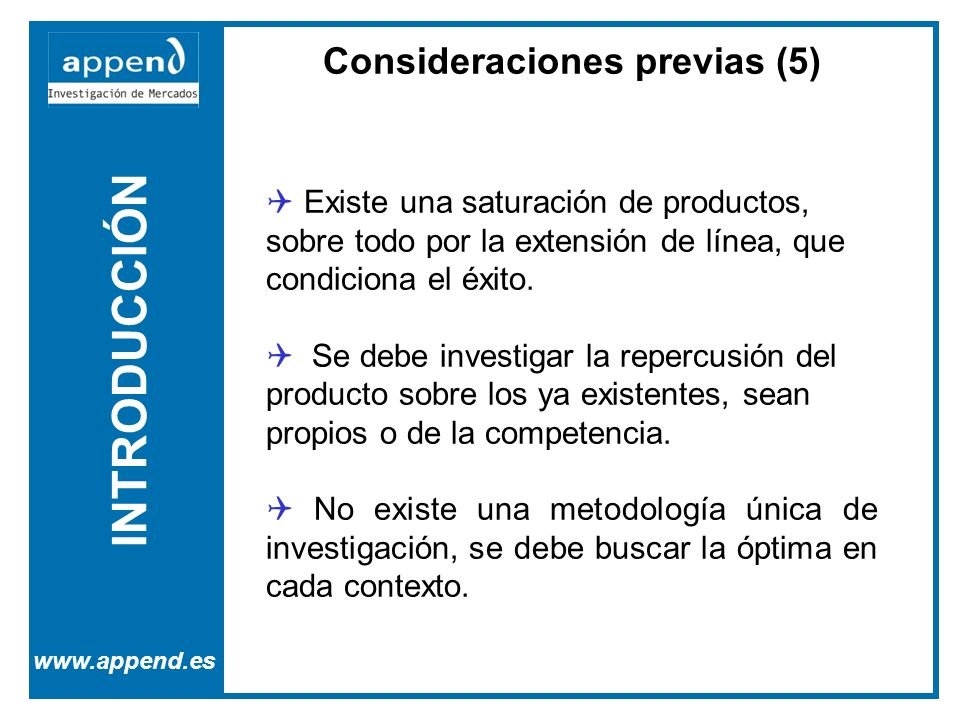 Consideraciones previas (5)