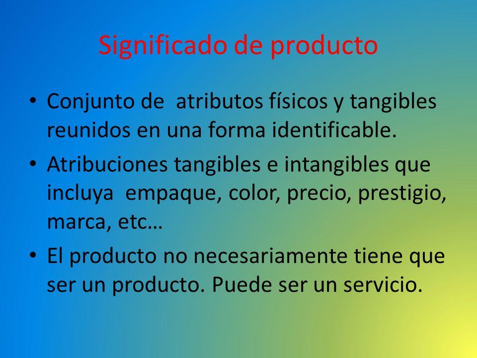 Significado de producto