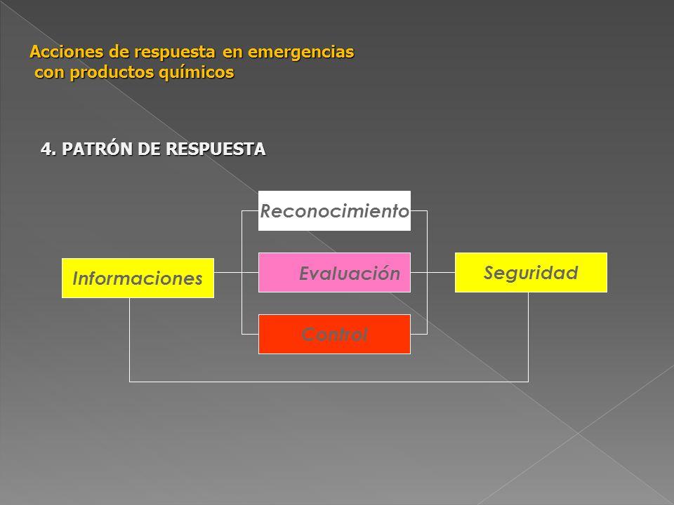 Reconocimiento Control Seguridad Informaciones