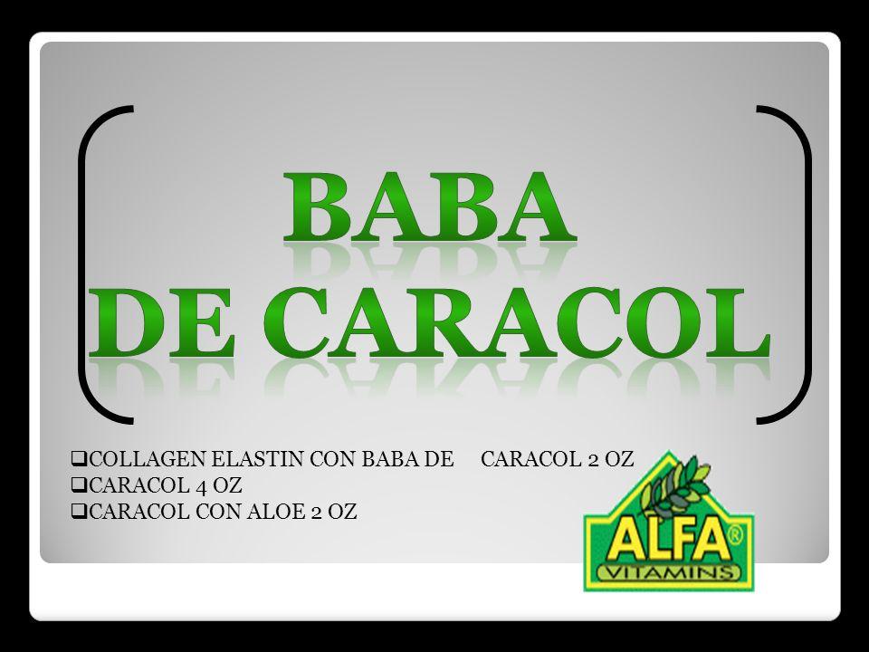Baba de caracol COLLAGEN ELASTIN CON BABA DE CARACOL 2 OZ CARACOL 4 OZ