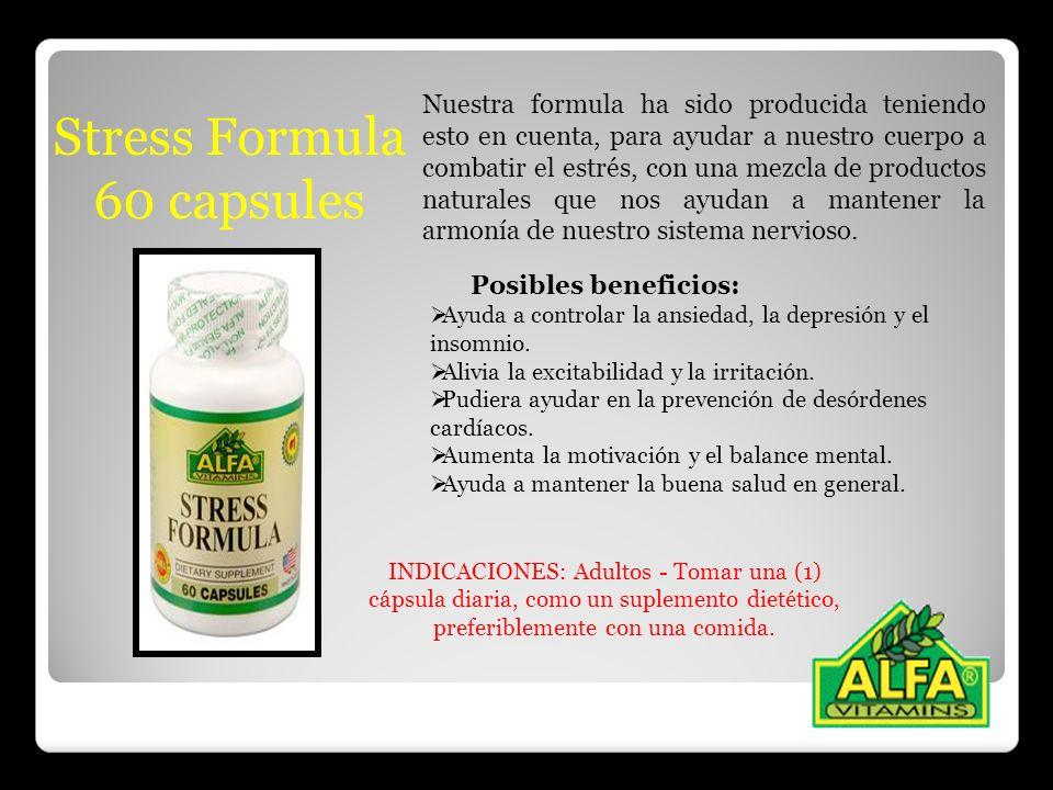 Stress Formula 60 capsules