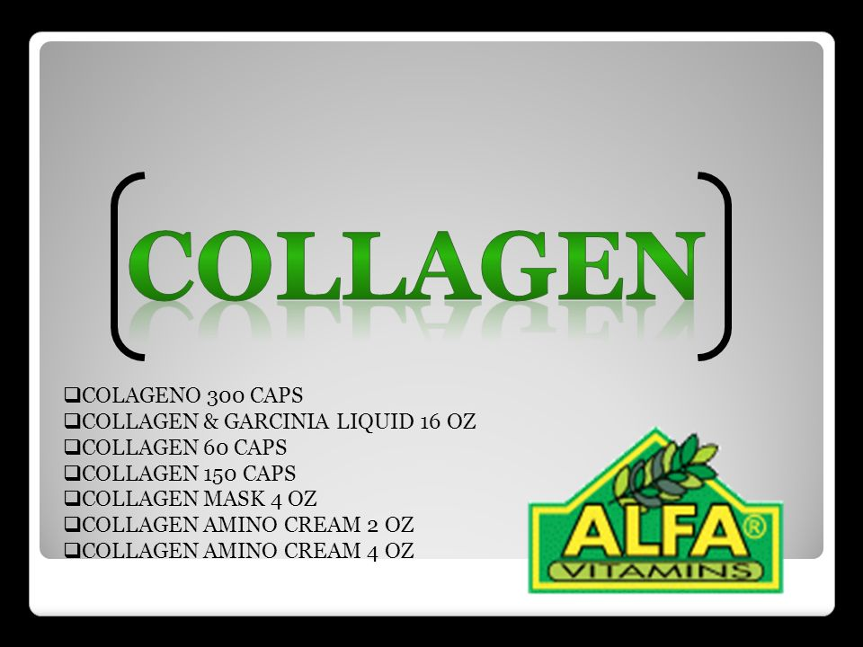 Collagen COLAGENO 300 CAPS COLLAGEN & GARCINIA LIQUID 16 OZ