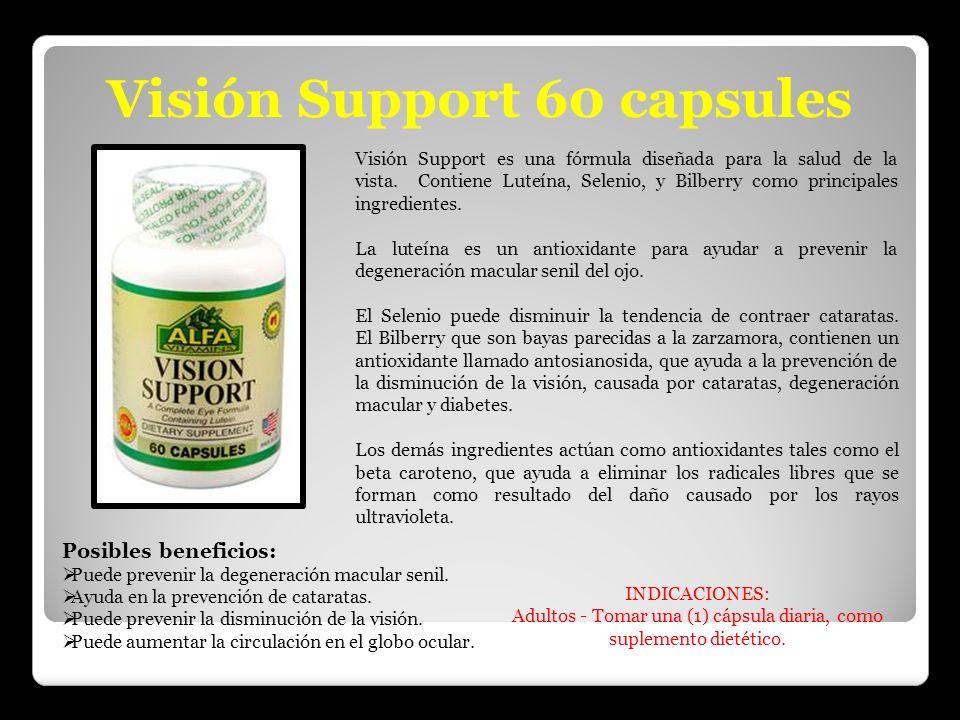 Adultos - Tomar una (1) cápsula diaria, como suplemento dietético.