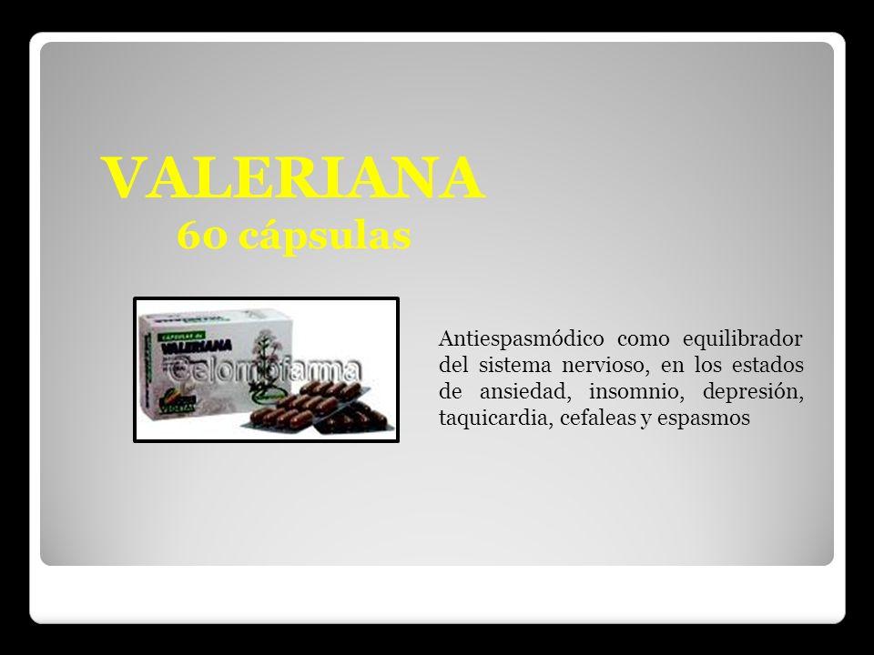 VALERIANA 60 cápsulas