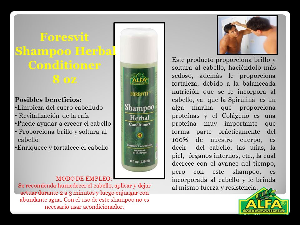 Shampoo Herbal Conditioner