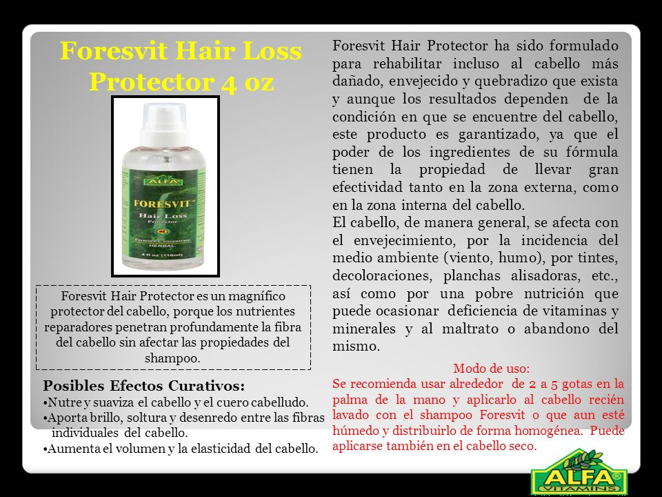 Foresvit Hair Loss Protector 4 oz