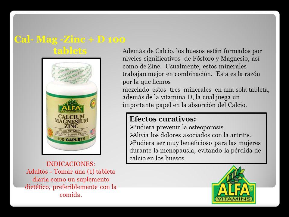 Cal- Mag -Zinc + D 100 tablets