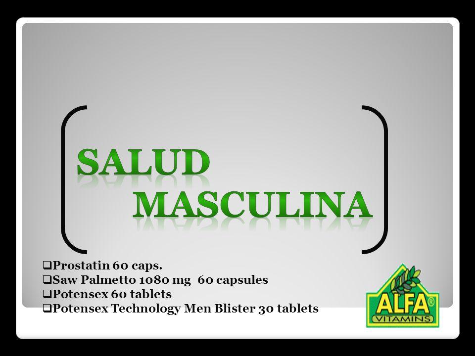 Salud masculina Prostatin 60 caps. Saw Palmetto 1080 mg 60 capsules