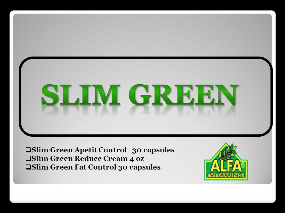 Slim Green Slim Green Apetit Control 30 capsules