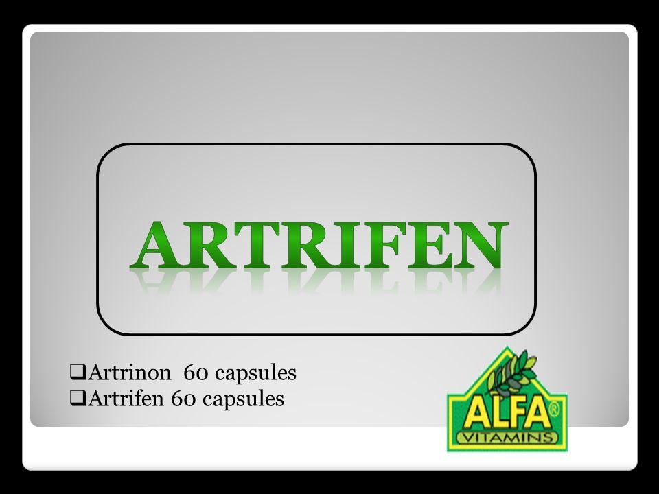 ARTRIFEN Artrinon 60 capsules Artrifen 60 capsules