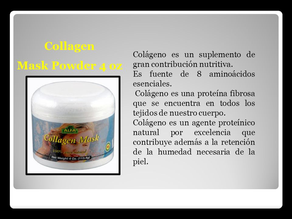 Collagen Mask Powder 4 oz