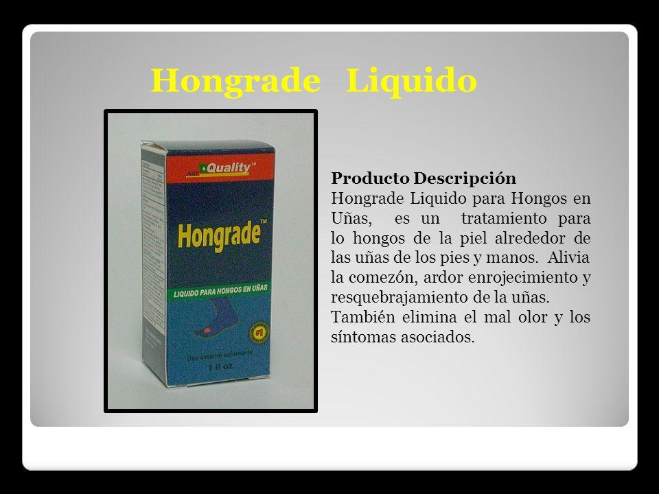 Hongrade Liquido Producto Descripción