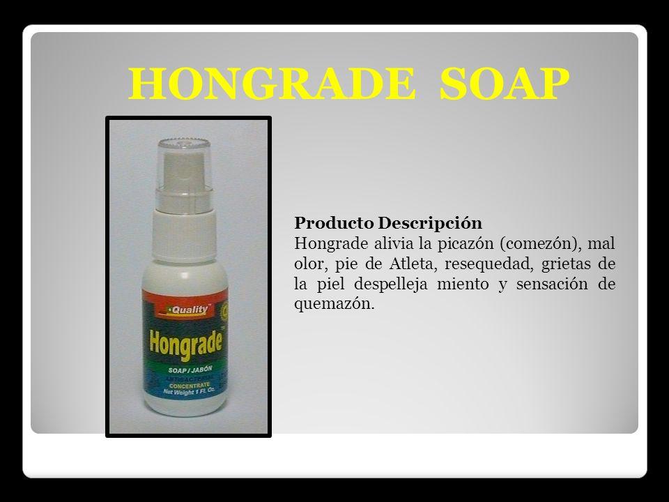 HONGRADE SOAP Producto Descripción