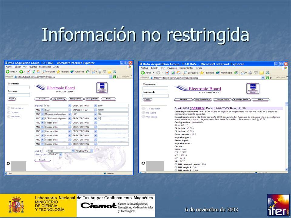 Información no restringida