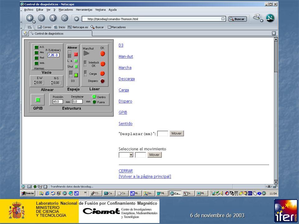 6 de noviembre de 2003