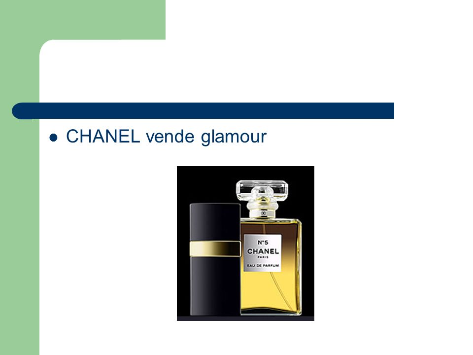 CHANEL vende glamour